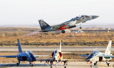 Jet-jet tempur Israel beruntun membom