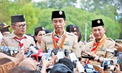 Jokowi: Kabinet itu ada pada hak Prerogatif Presiden. (FOTO: Setneg)