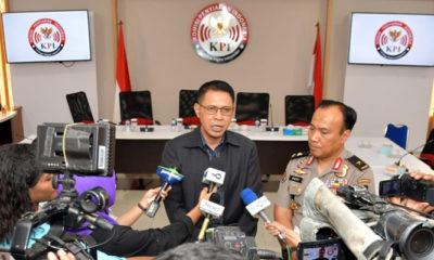 KPI Menggelar Konferensi Pers di Jakarta Menyikapi Kasus Amuk Massa di Papu Senin (19/8/2019). (Foto: KPI)