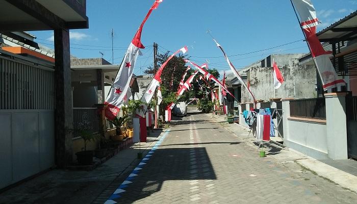 kampung merah putih, jember, jati diri, bangsa indonesia, nusantaranews