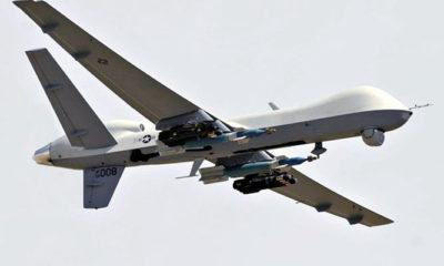 Kembali Drone Canggih AS Dihajar Rudal Buatan Pejuang Houthi
