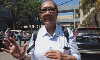 Korlap Aksi Ormas Surabaya Tri Susanti. (FOTO: Dok. Detikcom)