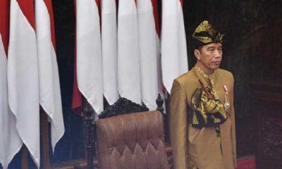 Makna Baju adat Sasak Jokowi di Sidang Tahunan MPR 2019. (FOTO: Istimewa)
