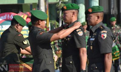 Mutasi Jabatan Letkol Inf Sidik Wiyono Dilantik Jadi Dandim Lamongan. (Foto Istimewa Untuk NUSANTARANEWS.CO)