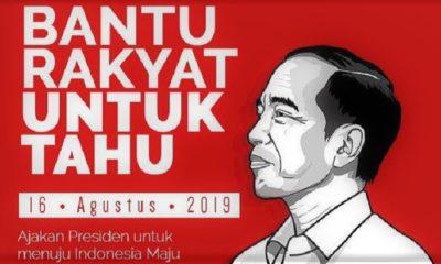 Pidato Presiden Joko Widodo. (Ilustrasi)