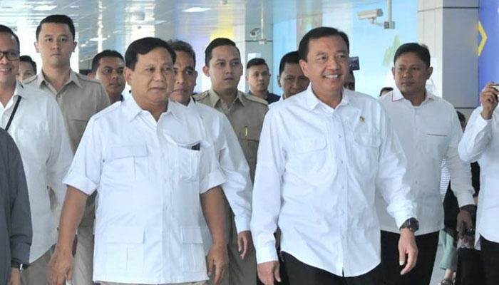 Prabowo dan BG Dinilai Mampu Memecah Gelombang Dominasi Luhut Hendro dkk (Foto: Setkab)
