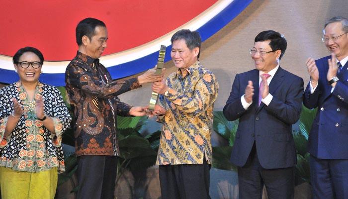 presiden jokowi, sekretariat asean, gedung baru, sisingamaraja, nusantaranews