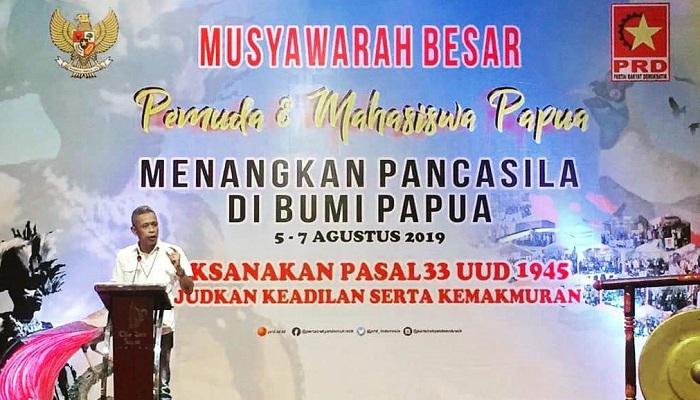 persoalan papua, prd, partai rakyat demokratik, resolusi, nusantaranews, yogyakarta
