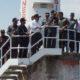 Sekretaris Jenderal Kementerian Pertahanan (Sekjen Kemhan) Laksdya TNI Agus Setiadji saat melakukan kunjungan ke Pulau Nipa di Batam, Provinsi Kepulauan Riau, Selasa (20/8/2019). (FOTO: Dok. Kemhan)
