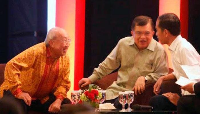 Sofjan Wanandi bersama Jusuf Kalla dan Jokowi (Foto Istimewa)