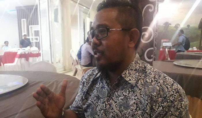 Tuan Haji Syariff Haji Wahya pengusaha suskes di Malaysia yang tertarik memasarkan produk para pelaku UMKM Nunukan di Negaranya. (FOTO: NUSANTARANEWS.CO/Eddy Santry)