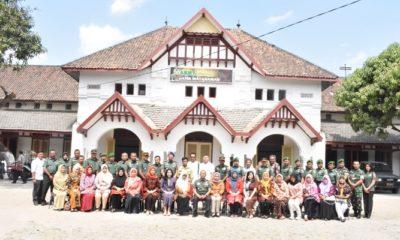 bangunan bosbow, madiun, kompleks bangunan, nusantara news, army galeri, batik mataraman