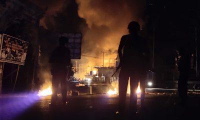 Dampak Kerusuhan Jayapura Picu Kerusakan, Dari Kantor MRP Hingga Kantor Polsek. (Foto Dok. RRI)