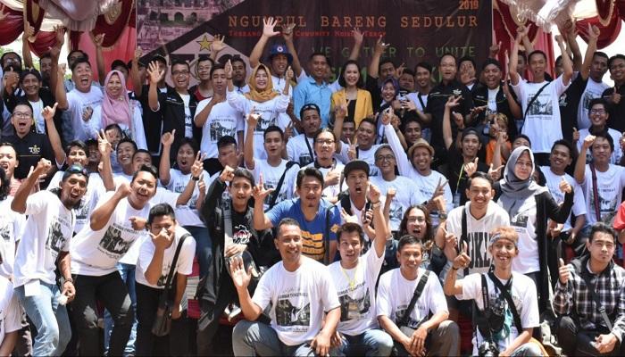 Seminar fotografi dan videografi yang digelar oleh salah satu komunitas di Kabupaten Ngawi, Jawa Timur, Minggu (29/9). (Foto: Istimewa)