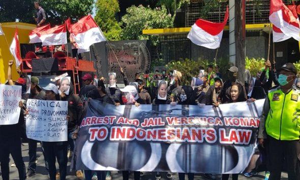 APP HAM Desak Australia Segera Deportasi Veronica Koman. (Foto: Istimewa)