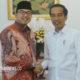 Amsori bersama Joko Widodo. (Foto Dok,. Pribadi Untuk NUSANTARANEWS.CO)