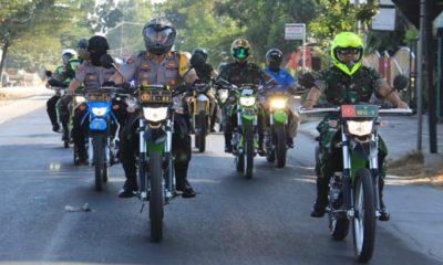 Antisipasi Karhutla, TNI-POLRI Lamongan Patroli Keliling. (FOTO: NUSANTARANEWS.CO)