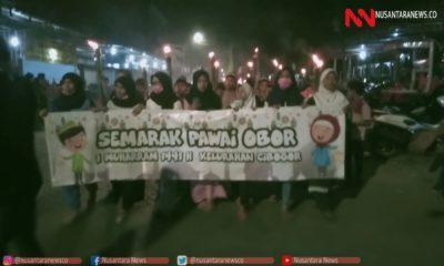 Tradisi Pawai Obor Warga Bogor Ramaikan Malam Tahun Baru Islam. (Foto Dok. NUSANTARANEWS.CO)