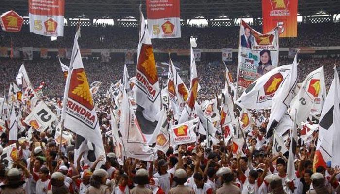 DPP Partai Gerindra Tolak Revisi UU KPK. (Foto Istimewa)