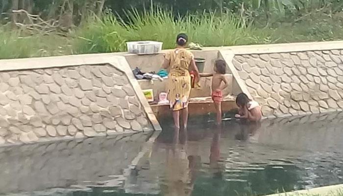 DPRD Fraksi Gerindra Desak Industri Yang Cemari Sungai Cilamaya Dipidanakan. (Foto Istimewa)