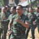Dandim Bersama Personelnya Bersemangat Latihan Tari Sajojo, Tarian Masyarakat Papua. (FOTO: NUSANTARANEWS.CO)