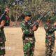 Dari Senjata Ringan Hingga Laras Panjang Warnai Latihan Menembak. (Foto: Pendam Brawijaya/NUSANTARANEWS.CO)