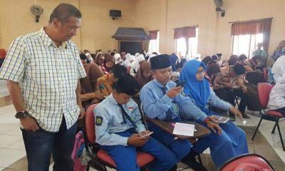 Kegiatan Smart Student Contest tingkat SMP di Aula STKIP PGRI Sumenep