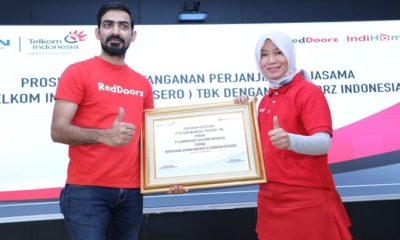 reddoorz, indihome, layani, jaringan properti, pelanggan indihome, hotel reddoorz, telkom indonesia, nusantaranews, nusantara news