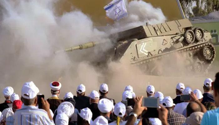 Hizbullah merudal kendaraan lapis baja Israel