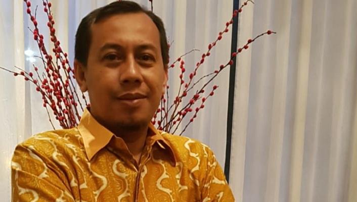 Sekretaris Ikatan Alumni (IKA PMII ) Surabaya, Aan Ainur Rofik meminta agar KPK mampu menerapkan asas praduga tak bersalah terhadap kasus Imam Nahrawi. (Foto: NUSANTARANEWS.CO/Setya)