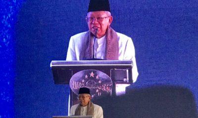Wapres Ma'ruf Amin Buka Rapat Pleno PBNU di Purwakarta