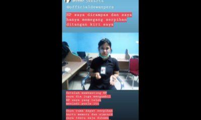 Liput Demo Mahasiswa, HP Wartawan Dihancurkan Oknum Polisi