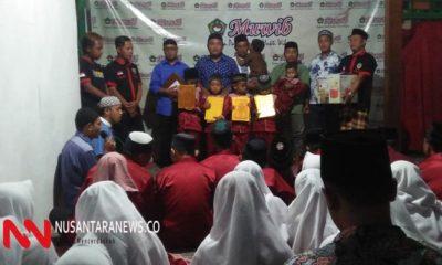 Isi Bulan Muharram Komunitas Ponorogo Adakan Peduli Yatim Piatu. (Foto: NUSANTARANEWS.CO/.Nurcholis)
