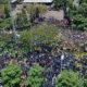 Lautan Mahasiswa Saat Menggelar Aksi Demo Menolak Revisi UU KPK dan RUU KUHP. (Foto Istimewa)