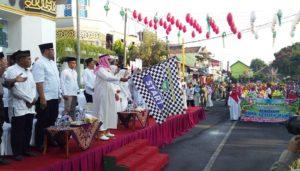 Pawai peringatan tahun baru Islam di Madiun, Minggu (1/9/2019). (Foto: Istimewa)