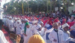 Meriahnya peringatan tahun baru Islam, 1 Muharram 1441 Hijriah di Kota Madiun, Jawa Timur, Minggu (1/9/2019). (Foto: Istimewa)
