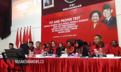 PDIP Gelar Fit And Propertest Calon Kepala Daerah di Pilkada 2020