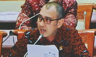 Pandangan Kapoksi Fraksi PKB di Komisi VI DPR RI, Nasim Khan soal RUU Koperasi. (FOTO: Istimewa)
