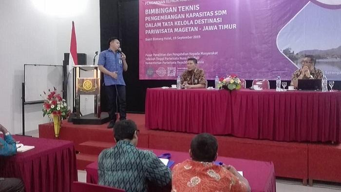 Pengembangan SDM Dalam Pengelolaan Pariwisata Magetan Jadi Perhatian DPR RI. (FOTO: NUSANTARANEWS.CO/MMuh Nurcholis)
