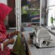 Persit Yonarmerd 12/Divif-2/Kostrad Menjahit Masa Depan. (FOTO: NUSANTARANEWS.CO)