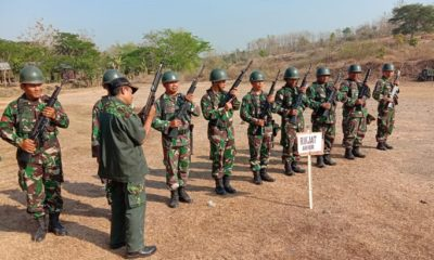 Prajurit TNI Madiun Asah Kemampuan Latbakjatri. (FOTO: NUSANTARANEWS.CO)
