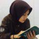 Rahmadina penulis Buku Setumpuk Rasa Cuek dan penggagas Komunitas Lapak Buku. (FOTO: NUSANTARANEWS.CO/Edy Santry)