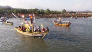 pacitan, jawa timur, ritual nelayan, sajian makanan, nusantaranews