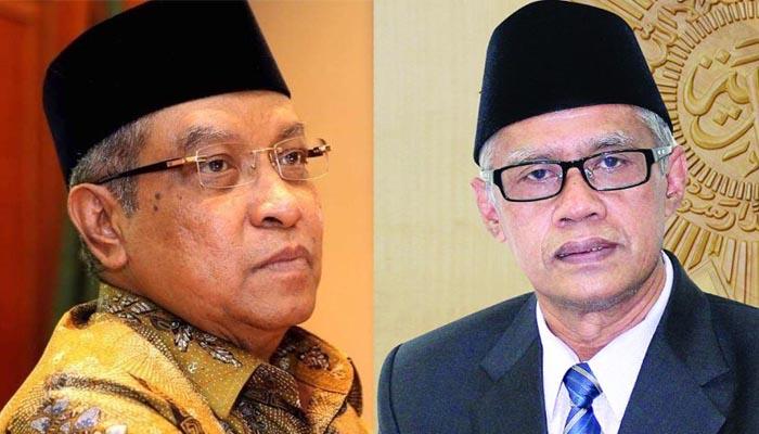 Said Aqil dan Haedar Nashir Jadi Wakil Presiden Agama Untuk Kedamaian. (Foto Ilustrasi Nusantaranews)