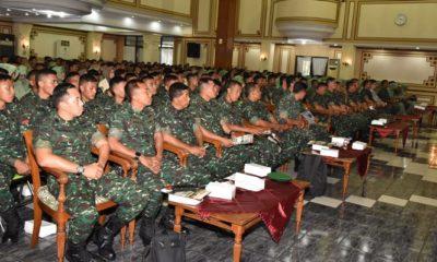 Sejahterakan Prajurit, Kodam V/Brawijaya Siapkan Program Kepemilikan Hunian. (FOTO: NUSANTARANEWS.CO)