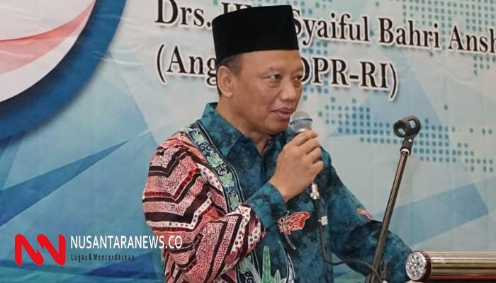 Syaiful Bahri Anshori. (Foto: NUSANTARANEWS.CO/Syaifuddin A)
