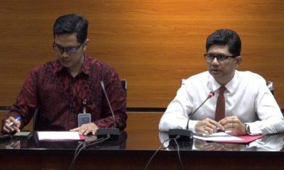 Wakil Ketua Komisi Pemberantasan Korupsi (KPK) Laode M. Syarif (kanan) dan Juru Bicara KPK Febri Diansyah (kiri). (FOTO: @kanal_kpk)