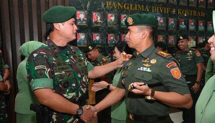 Setelah  menyandang pangkat Letnan Kolonel, kini, Danmenarmed 1/PY/2-Kostrad, resmi menyandang pangkat Kolonel. (Foto: Istimewa)