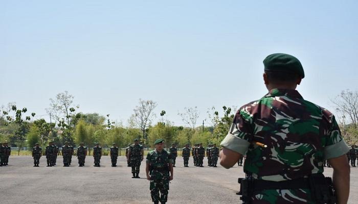 Mayor Arm Adwi Prasetya, lulusan Akademi Militer Tahun 2006 yang sebelumnya menjabat Kasilog Menarmed 1/Divif 2 Kostrad secara resmi menjabat Wadanyonarmed 12/Divif 2 Kostrad. (Foto: Istimewa)