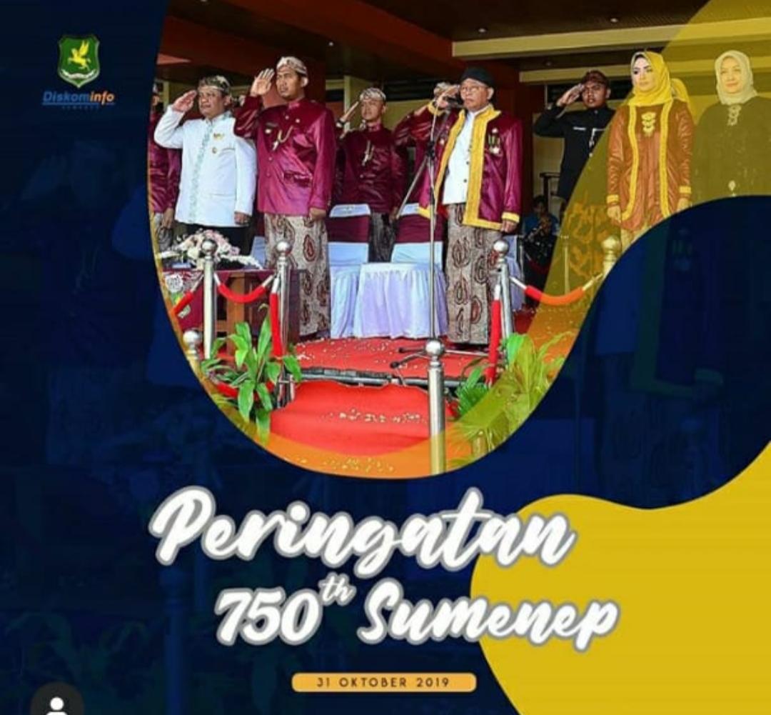 Pemplet peringatan 750 Tahun Kabupaten Sumenep